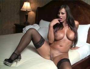 Sexy Nikki Jackson is back at her hotel room and she wants to get naughty, and she wants to know if you want to get naughty with her. Once she starts showing off her biceps, pecs, legs, and glutes - all while wearing sexy stockings - you'll have no choice but to say yes!