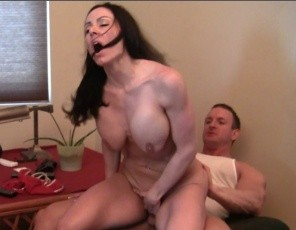 Female muscle porn star Kendra Lust gets muscle worship and penetration from dickhead and boytoy, and gives a hand job, a blow job and a bicep job. While you're enjoying the close-up muscle sex and muscle fucking, appreciate Kendra posing to give you a long hard look at her muscular pecs, legs, glutes, biceps and abs.